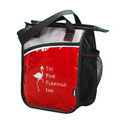 View a larger, more detailed picture of the KOOZIE&reg Upright Laminated Lunch Cooler - 24 hr