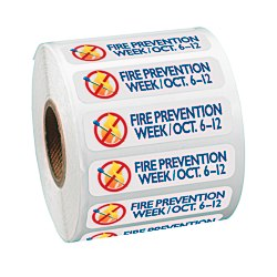 View a larger, more detailed picture of the Full Color Sticker by the Roll - Rectangle - 1 2 x 2