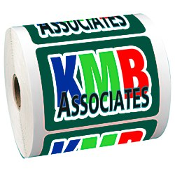 View a larger, more detailed picture of the Full Color Sticker by the Roll - Rectangle - 2-3 4 x 3-3 4