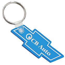 View a larger, more detailed picture of the Chevy Bow Tie Soft Key Tag