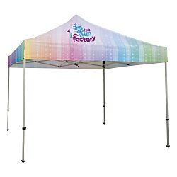 View a larger, more detailed picture of the 10 Deluxe Event Tent - Full Color