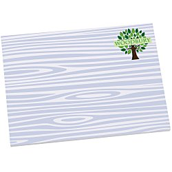 View a larger, more detailed picture of the Bic Sticky Note - Designer - 3x4 - Wood Grain - 25 Sheet