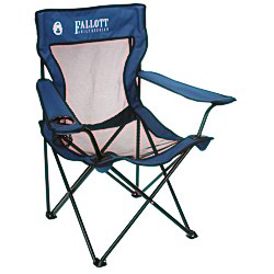 View a larger, more detailed picture of the Coleman Mesh Folding Chair