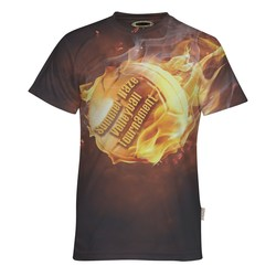 View a larger, more detailed picture of the Jersey Knit 5 5 oz Polyester T-Shirt-Men s-Dye-Sublimated