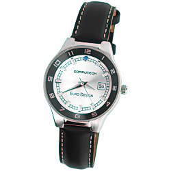 View a larger, more detailed picture of the Prague Leather Watch - Ladies