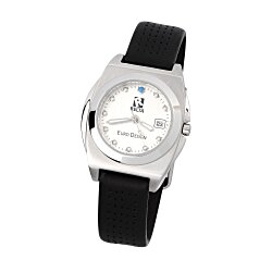 View a larger, more detailed picture of the Edinburgh Leather Watch - Ladies