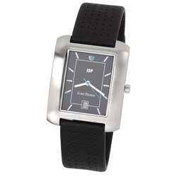 View a larger, more detailed picture of the Seville Leather Watch - Men s