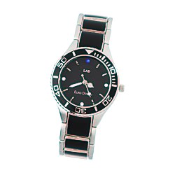View a larger, more detailed picture of the Barcelona Steel Watch - Ladies