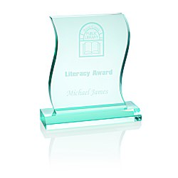 View a larger, more detailed picture of the Wave Acrylic Award