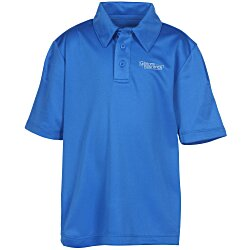 View a larger, more detailed picture of the Silk Touch Performance Sport Polo - Youth