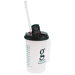 View a larger, more detailed picture of the Insulated Medical Mug with Straw - 22 oz
