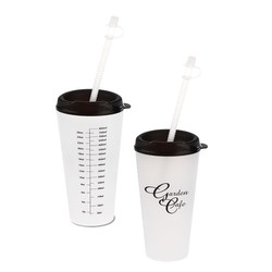 View a larger, more detailed picture of the Flare Tumbler w Straw - 32 oz - Medical