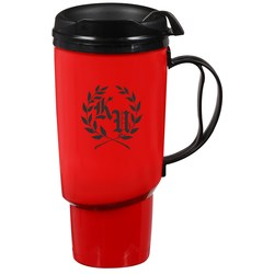 View a larger, more detailed picture of the Foam Insulated Travel Mug - 34 oz