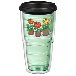 View a larger, more detailed picture of the Swirl Insulated Travel Tumbler - 24 oz