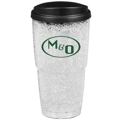 View a larger, more detailed picture of the Freezer Gel Insulated Travel Tumbler - 24 oz