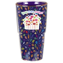 View a larger, more detailed picture of the Full Color Insulated Tumbler - 24 oz
