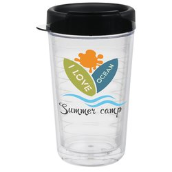 View a larger, more detailed picture of the Ring Around Insulated Travel Tumbler - 24 oz
