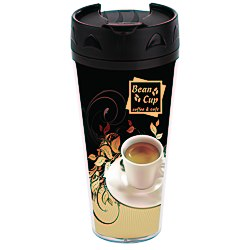 View a larger, more detailed picture of the Full Color Voyager Insulated Travel Tumbler - 16 oz