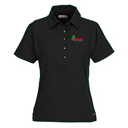 View a larger, more detailed picture of the Yabelo Hybrid Performance Polo - Ladies - 24 hr