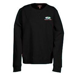 View a larger, more detailed picture of the Garris V-Stitch Crew Sweatshirt - Ladies - 24 hr
