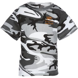 View a larger, more detailed picture of the Code V Camouflage T-Shirt - Youth