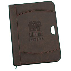 View a larger, more detailed picture of the Tanis Zippered Padfolio