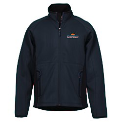 View a larger, more detailed picture of the Ferno Color Block Soft Shell Jacket - Men s - 24 hr