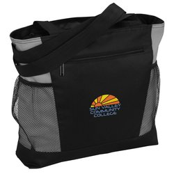 View a larger, more detailed picture of the Travel Lite Tote - Embroidered