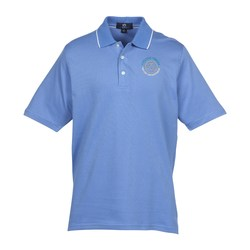 View a larger, more detailed picture of the Vansport Micropima Nailhead Stripe Polo - Men s