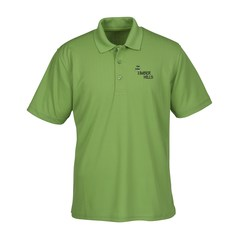 View a larger, more detailed picture of the Vansport Recycled Drop Needle Tech Polo - Men s