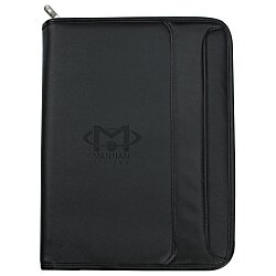 View a larger, more detailed picture of the Burke Zippered Portfolio