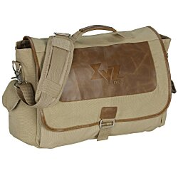 View a larger, more detailed picture of the Field & Co Cambridge Collection Laptop Messenger