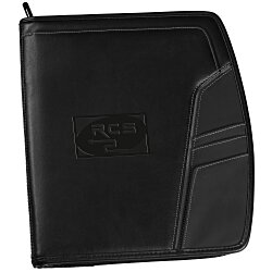 View a larger, more detailed picture of the Precision Zippered Padfolio