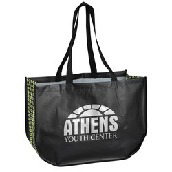 View a larger, more detailed picture of the Planet Everywhere Tote - Closeout