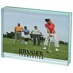 View a larger, more detailed picture of the Atrium Glass Picture Frame - 4 x 6