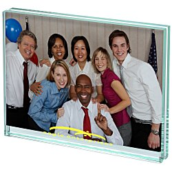 View a larger, more detailed picture of the Atrium Glass Picture Frame - 5 x 7