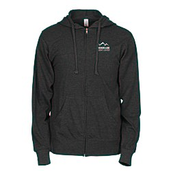View a larger, more detailed picture of the Independent Trading Co 4 5 oz Full Zip Hoodie-Screen