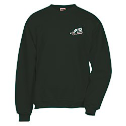 View a larger, more detailed picture of the Jerzees Nublend Super Sweats Crew - Screen
