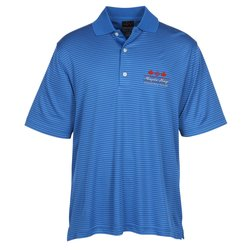 View a larger, more detailed picture of the Greg Norman Play Dry Fine Stripe Polo