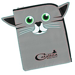 View a larger, more detailed picture of the Paws and Claws Tablet Case Kitten