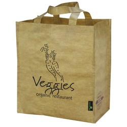 View a larger, more detailed picture of the Laminated Brown Grocers Bag