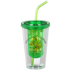 View a larger, more detailed picture of the Flavorade Infuser Tumbler with Straw - 16 oz