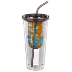 View a larger, more detailed picture of the Flavorade Infuser Tumbler with Straw - 20 oz