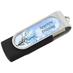 View a larger, more detailed picture of the Swing USB Drive - 8GB - Full Color - 4 Day