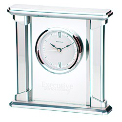 View a larger, more detailed picture of the Allure Glass Clock
