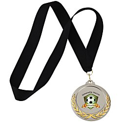 View a larger, more detailed picture of the Victory Medal - Black