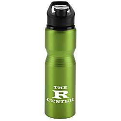 View a larger, more detailed picture of the Flip & Carry Aluminum Bottle - 28 oz