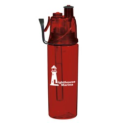 View a larger, more detailed picture of the Dual Chamber Sip-N-Spray Bottle - 18 oz - Closeout