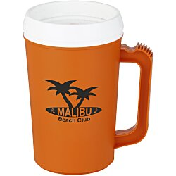View a larger, more detailed picture of the Thermo Insulated Mug - 22 oz - Opaque