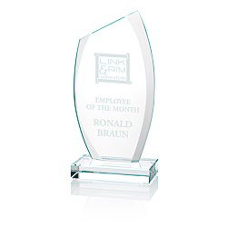 View a larger, more detailed picture of the Radiant Starfire Glass Award - 8